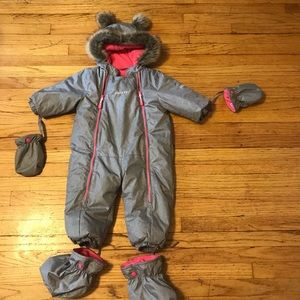 Like new Gusti girl isolated winter overall 18 m
